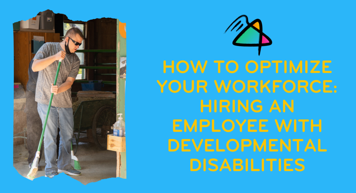 How to Optimize Your Workforce: Hiring an Employee with Developmental Disabilities
