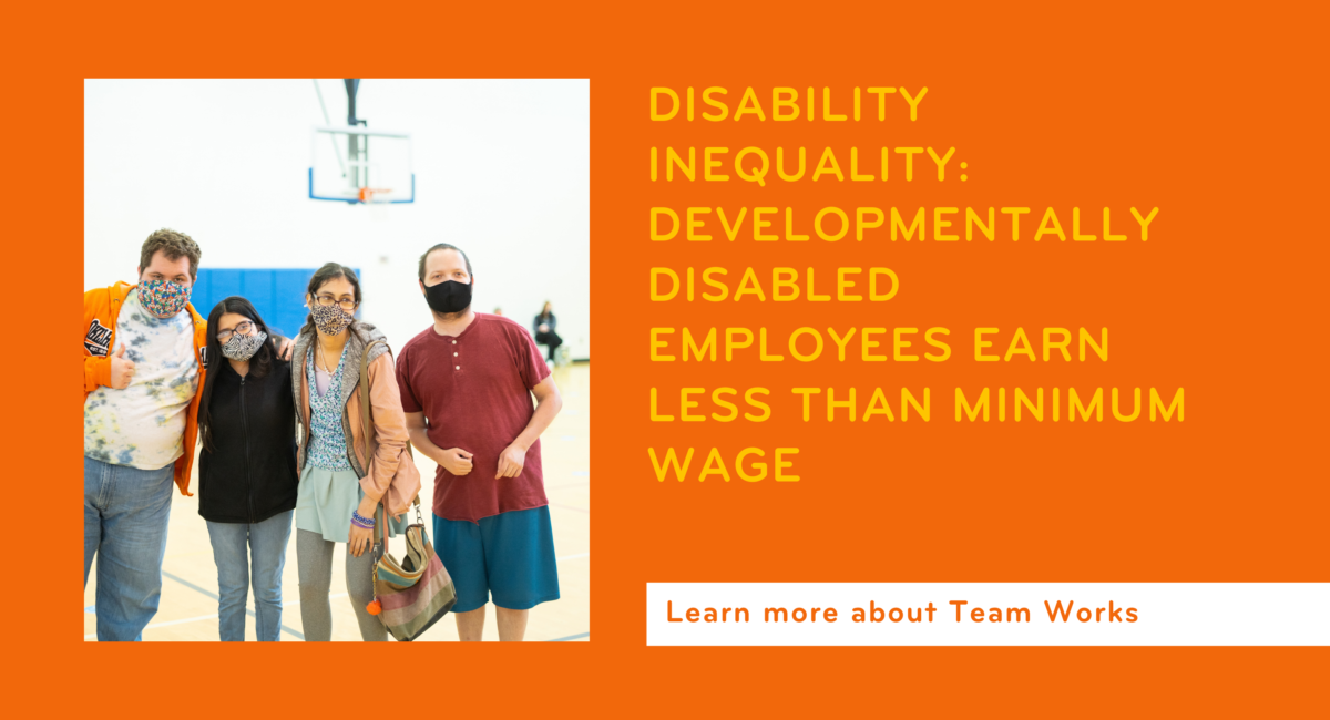 Disability Inequality: Developmentally Disabled Employees Earn Less than Minimum Wage